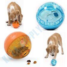 "Dog Treat Dispenser Toy Interactive Iq Ball Food Chew Puppy 3"" Plastic Puzzle"