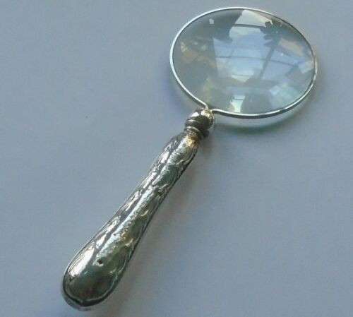 Henry Wigfull HM Silver Handle Magnifying Glass Sheffield 1926
