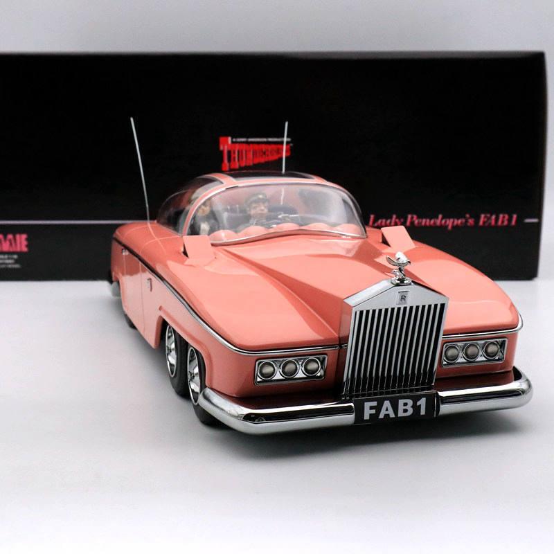 AMIE 1 18 Rolls Royce Lady Penelope's Thunderbirds FAB 1 Resin FAB1  | Offizielle Webseite