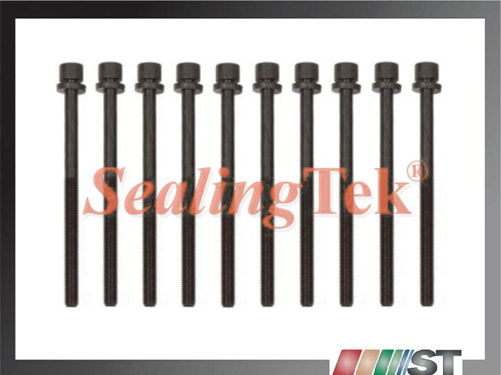 Cylinder Head Bolts for 06-10 Hyundai Optima Rondo Kia Forte 2.4L DOHC 16V G4KC