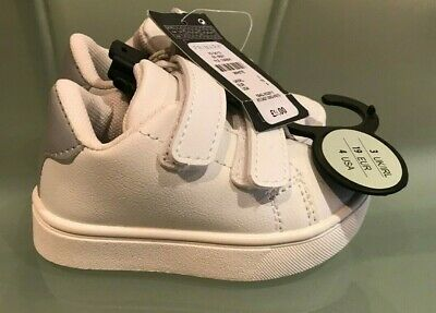 Authentic Primark White Boys Shoes Baby
