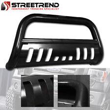 For 02 09 Ram 1500 2500 3500 Black Heavyduty Bull Bar Brush Push Bumper Grille Fits 2005 Dodge Ram 1500