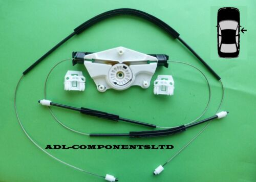 Skoda Fabia MK1 Window Regulator Repair Kit Front Right Door 1999-2006