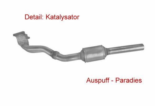 Kit />2005 APK /& AQY 85KW Katalysator VW New Beetle 2.0 Typ 9C1 Motorcode AEG