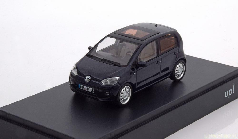 VW UP 2012 DARK bleu SCHUCO 1S4099300H5X 1 43 VOLKSWAGEN UP  BLEU FONCE bleu