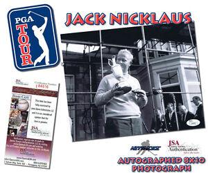 JACK-NICKLAUS-Signed-PGA-GOLF-Autographed-8x10-PHOTO-JSA-I84606
