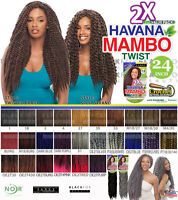 Janet Collection Noir 2x Havana Mambo Twist Braid 24 Hair