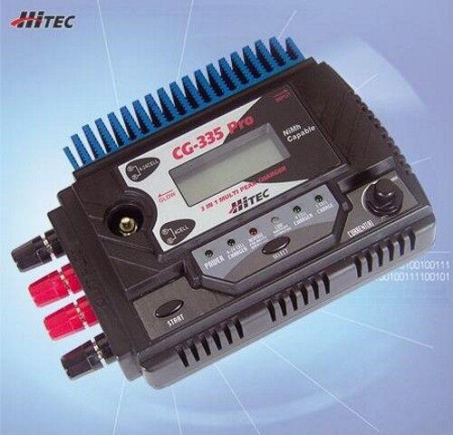HiTEC CG-335 Pro Pr  4-24 CELL Nicad & NiMH Peak Charger NEW