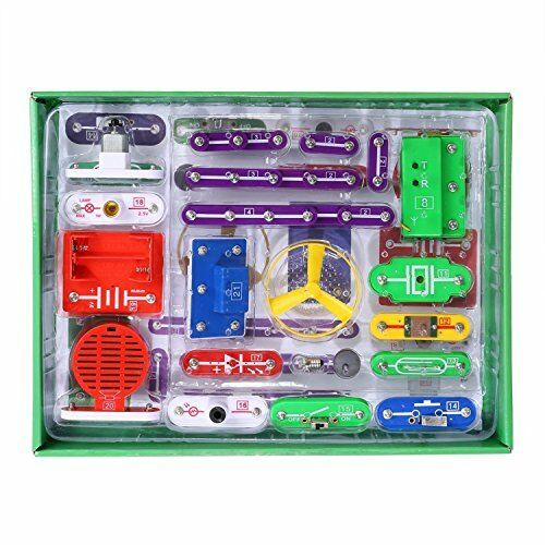 VFENG 335 Smart Electric Circuit Kits, Kids Science Kit, Educational Science Kit