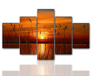 Das Bild Wird Geladen Designbilder 160x80cm 5 Teilig Auf Leinwand Und Keilrahmen