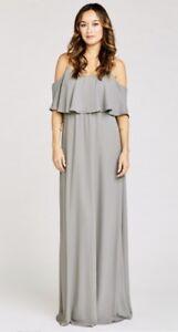 1265ed81d488d Show Me Your Mumu Caitlin Ruffle Cold Shoulder Maxi Dress Soft ...