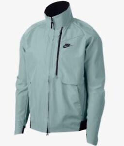 007227385789 914082-019) Nike Mens Bonded Tech Pack Waterproof Grey Shield Jacket ...