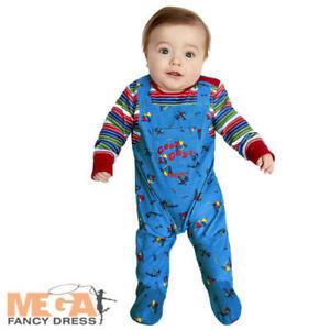Chucky-Baby-Fancy-Dress-Evil-Toy-Doll-Halloween-Horror-Boys-Girls-Kids-Costume