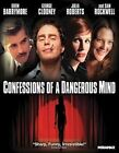 Confessions of a Dangerous Mind 0031398145691 With Sam Rockwell Blu-ray