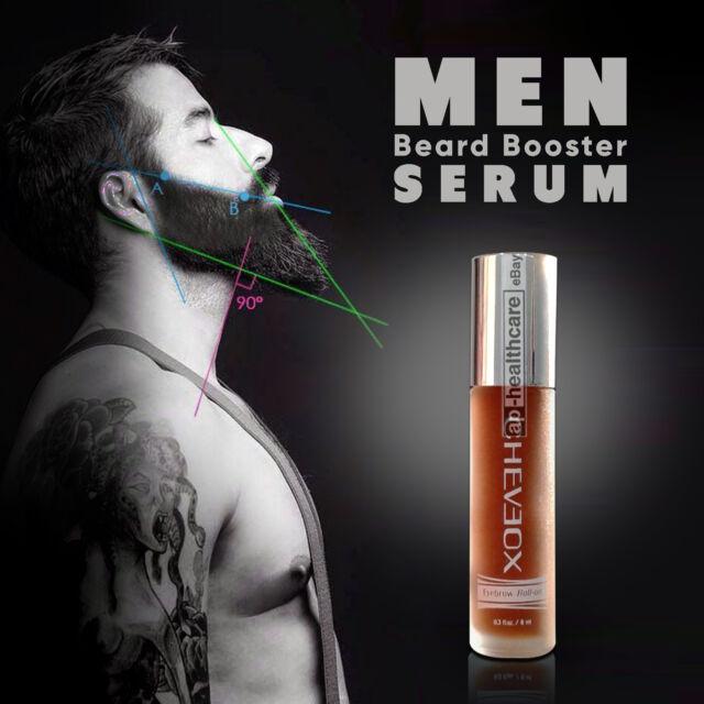 MEN Beard Growth Serum Rapid Grow Facial Hair Mustache Beard Sideburns Eyebrows
