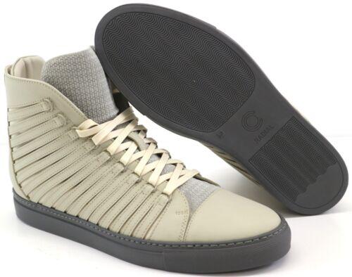Cipher Radial Matt Winter Grey Men/'s Leather High Top Trainers Sneakers UK 9