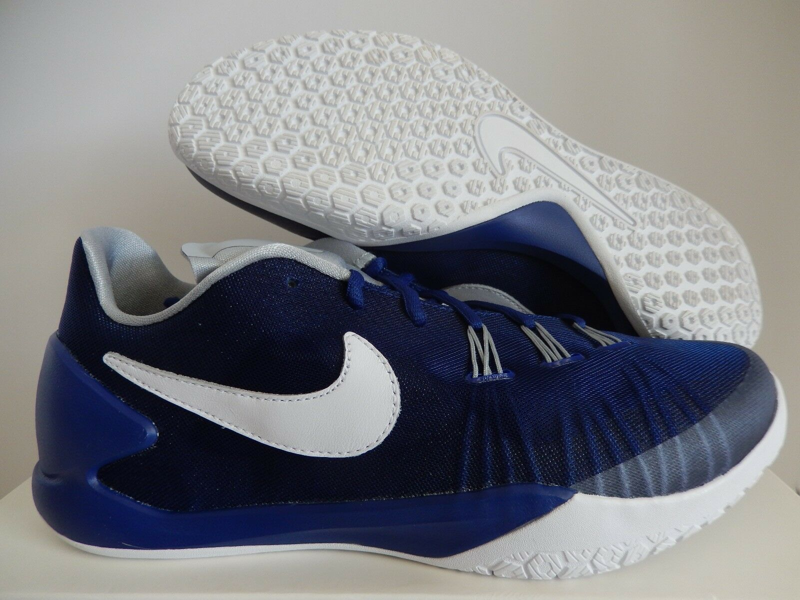 NIKE HYPERCHASE SP FRAGMENT DEEP ROYAL BLUE-WHITE-WOLF GREY SZ 11 [789486-410]