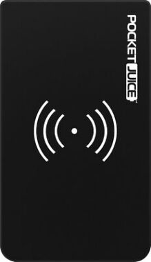 Tzumi - PocketJuice Wireless Air 10,000 mAh Portable Charger