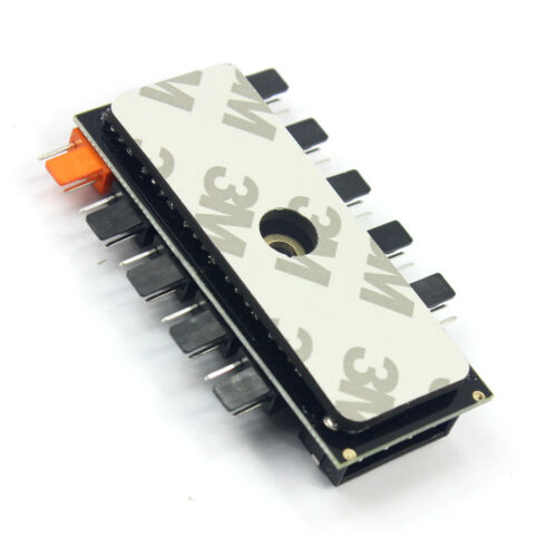 1 to 10 4Pin //SATA Cooling Fan Hub Molex Cooler Splitter Cable PWM Power Adapter