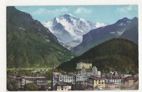 Switzerland, Interlaken, Die Jungfrau Postcard, B203