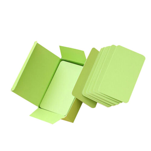 90 Sheets Paper Blank Index Flash Cards DIY Greeting Quick Message