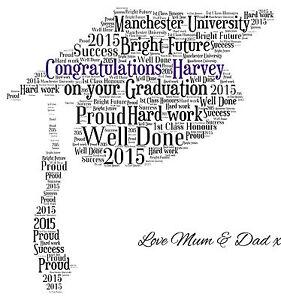 Personalized Graduation Word-Art Shirt | GiftsForYouNow  |Word Art For Graduation