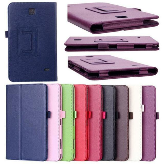 Ultra Slim Leather Case Cover Shell  For Samsung Galaxy Tab 4 7Inch SM-T230