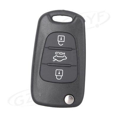 Replace Flip Key Shell fit for KIA Rondo Sportage Soul Rio Remote Case 3B S161C