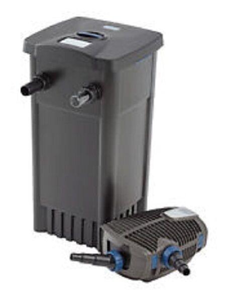 outlet Oasi filtomatic 14000 CWS CWS CWS Set filtro per laghetto M. UVC, sporco Pompa + AQUAMAX 6000  salutare