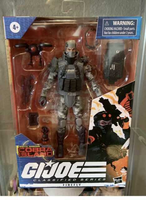 G.I. Joe Classified Series Special Missions Cobra Island Firefly Brand New