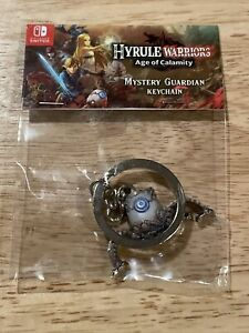 Zelda Hyrule Warriors AGE OF CALAMITY MYSTERY GUARDIAN KEYCHAIN GameStopPreorder