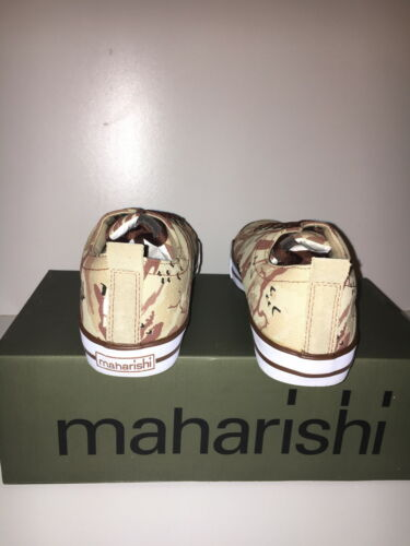 MAHARISHI MENS DESERT DAY SHOE IN BONSAI PRINTED HEMP CANVAS!!!