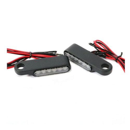 LED Lenker-Blinker für Harley Dyna Fat Bob Blinker M2 getönt