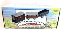 Britt Allcrofts 1993 Thomas & Friends Toby The Tram Engine Toy Train Set