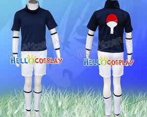 Details About Naruto Sasuke Uchiha Cosplay Costume H008