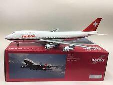 Herpa Wings 1:200 556941 Swissair B747-300M HB-IGC