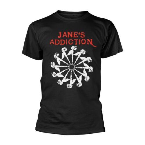 Jane/'s Addiction-Para Hombres Camiseta Nueva Rueda De Dama