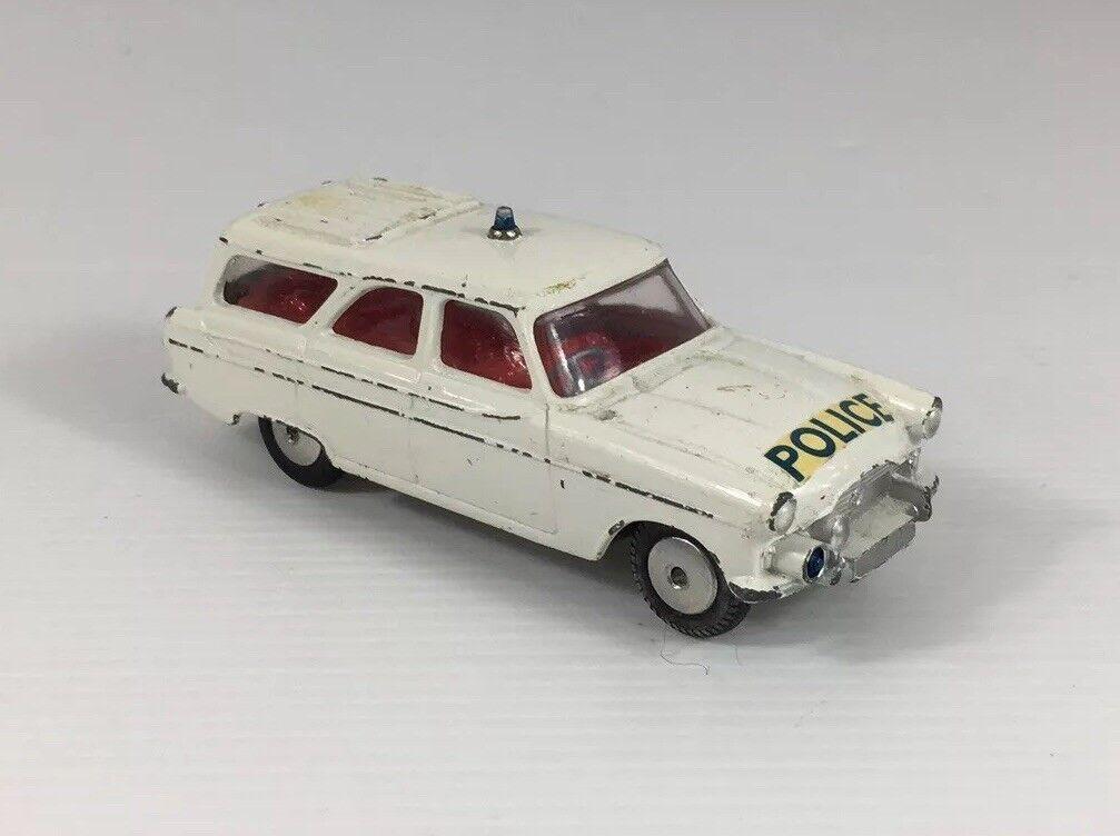 Vintage CORGI TOYS FORD ZEPHYR mortorway patrouille de police voiture coffret