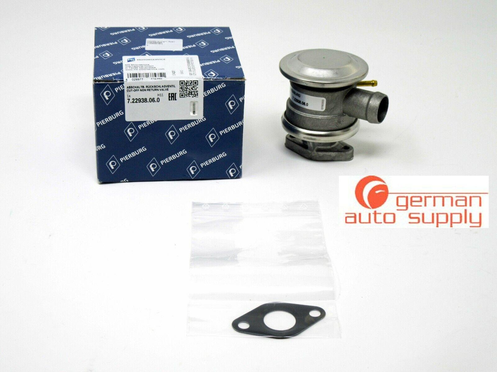 One New Pierburg Secondary Air Injection Shut-Off Valve 722938060 for Porsche