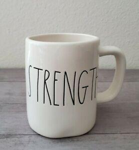 NEW-RAE-DUNN-By-Magenta-STRENGTH-Coffee-Tea-Mug-Farmhouse-Summer-Home-Decor
