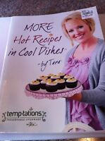 Temptation's hot Recipes In Cool Dishes Recipe Book