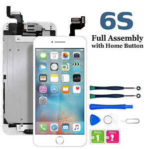 For iPhone 6S LCD Digitizer Touch Screen Replacement With Button & Camera lot