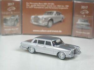 Wiking-C-amp-I-Sondermodell-Mercedes-600-silber