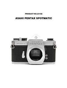Asahi-Pentax-Spotmatic-Camera-Service-Repair-Manual