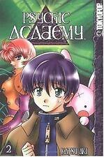 Lot of 3 Psychic Academy Manga Vol. 1,2,3 by Katsu Aki PB