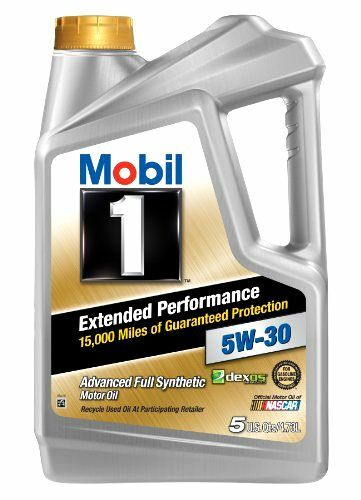 Extended Performance 5W-30 Motor Oil Mobil 1 120846 5 Quart