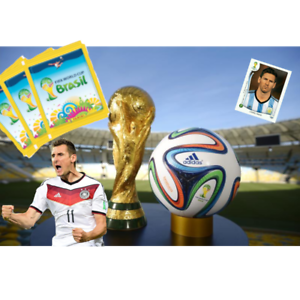 Panini-coupe-du-monde-2014-14-Bresil-Brasil-5-10-50-100-Stickers-choisir-world-cup-fifa