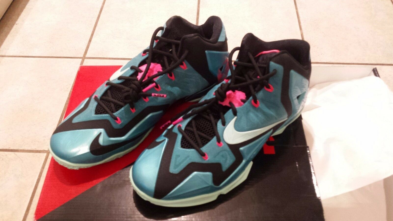 Lebron 11 South Beach size 12