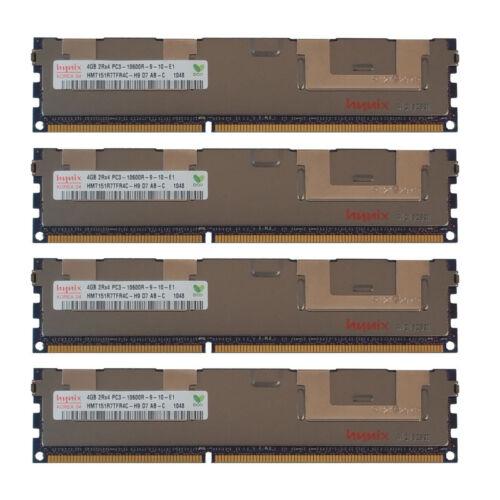 16GB Kit 4x 4GB HP Proliant SL335S SL390S BL685C G7 DL1000 Memory Ram