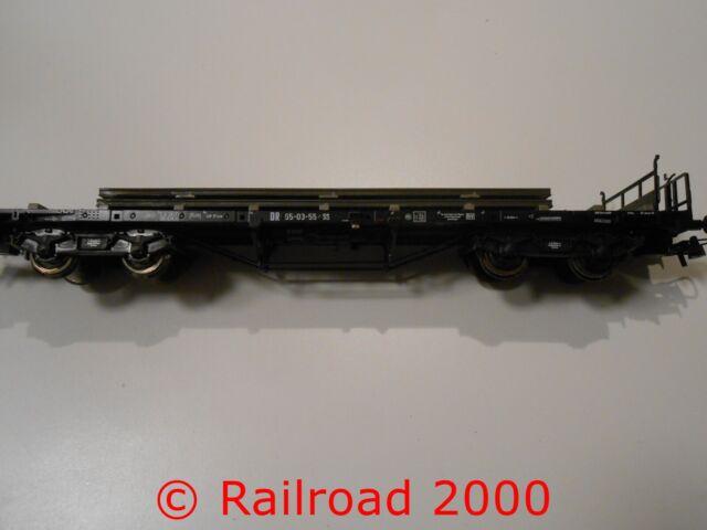 Roco aus 76196 Rungenwagen der DR beladen, NEU+OVP